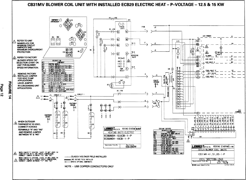 hight resolution of lennox air handler auxiliary heater kit manual l0805584page 12 of 12 lennox air handler auxiliary heater