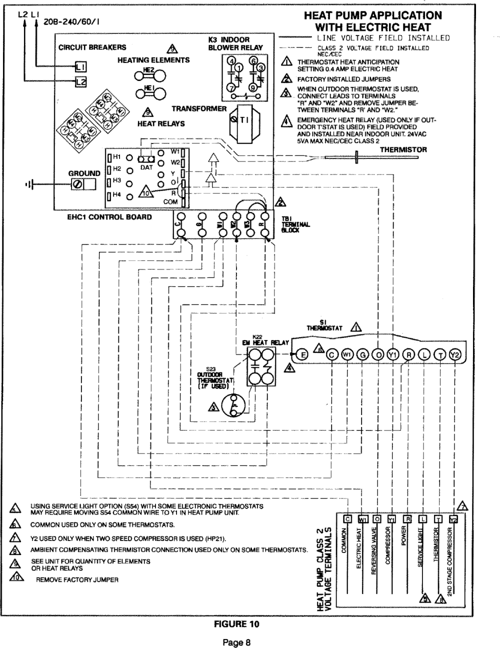 medium resolution of page 8 of 12 lennox air handler auxiliary heater kit manual l0805584
