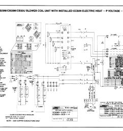 lennox air handler auxiliary heater kit manual l0805584page 9 of 12 lennox air handler auxiliary heater [ 1514 x 1188 Pixel ]