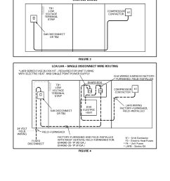 lca lha electric heat wire routing units with or without disconnect package [ 1224 x 1584 Pixel ]