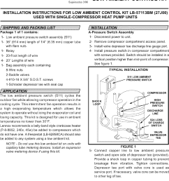 lennox controls and hvac accessories manual l0806303 lennox low ambient kit wiring diagram [ 1078 x 1494 Pixel ]