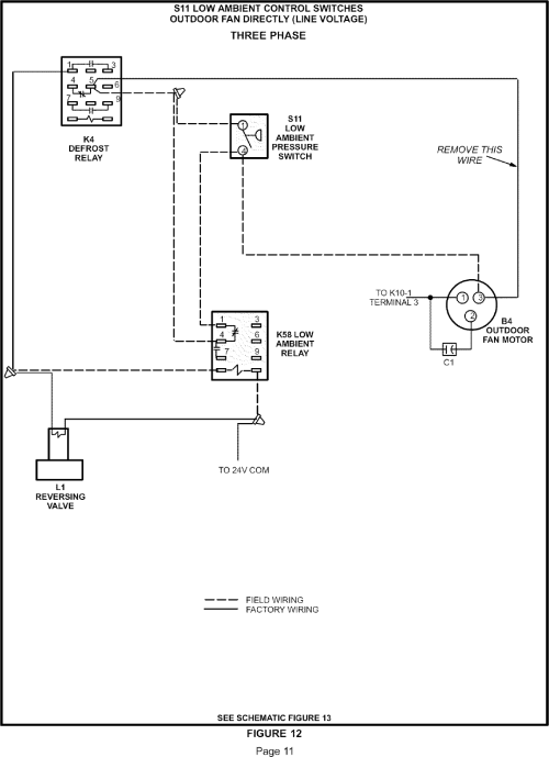 small resolution of lennox controls and hvac accessories manual l0806303 icm low ambient control wiring diagram low ambient wiring diagram