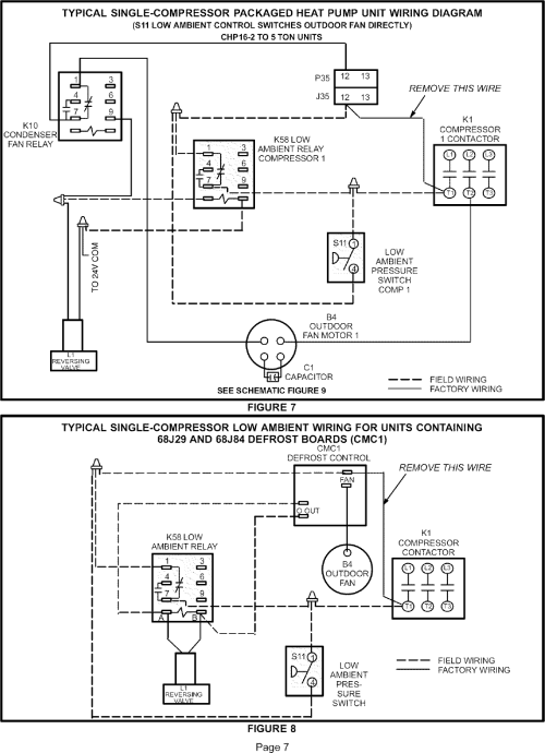 small resolution of lennox controls and hvac accessories manual l0806303 lennox low ambient kit wiring diagram