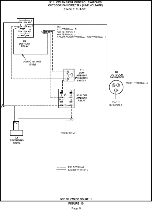 small resolution of lennox controls and hvac accessories manual l0806303 low ambient control wiring diagram low ambient wiring diagram