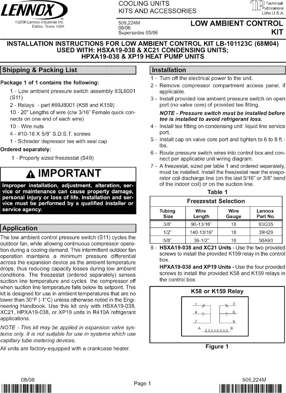 medium resolution of lennox hvac wiring diagram
