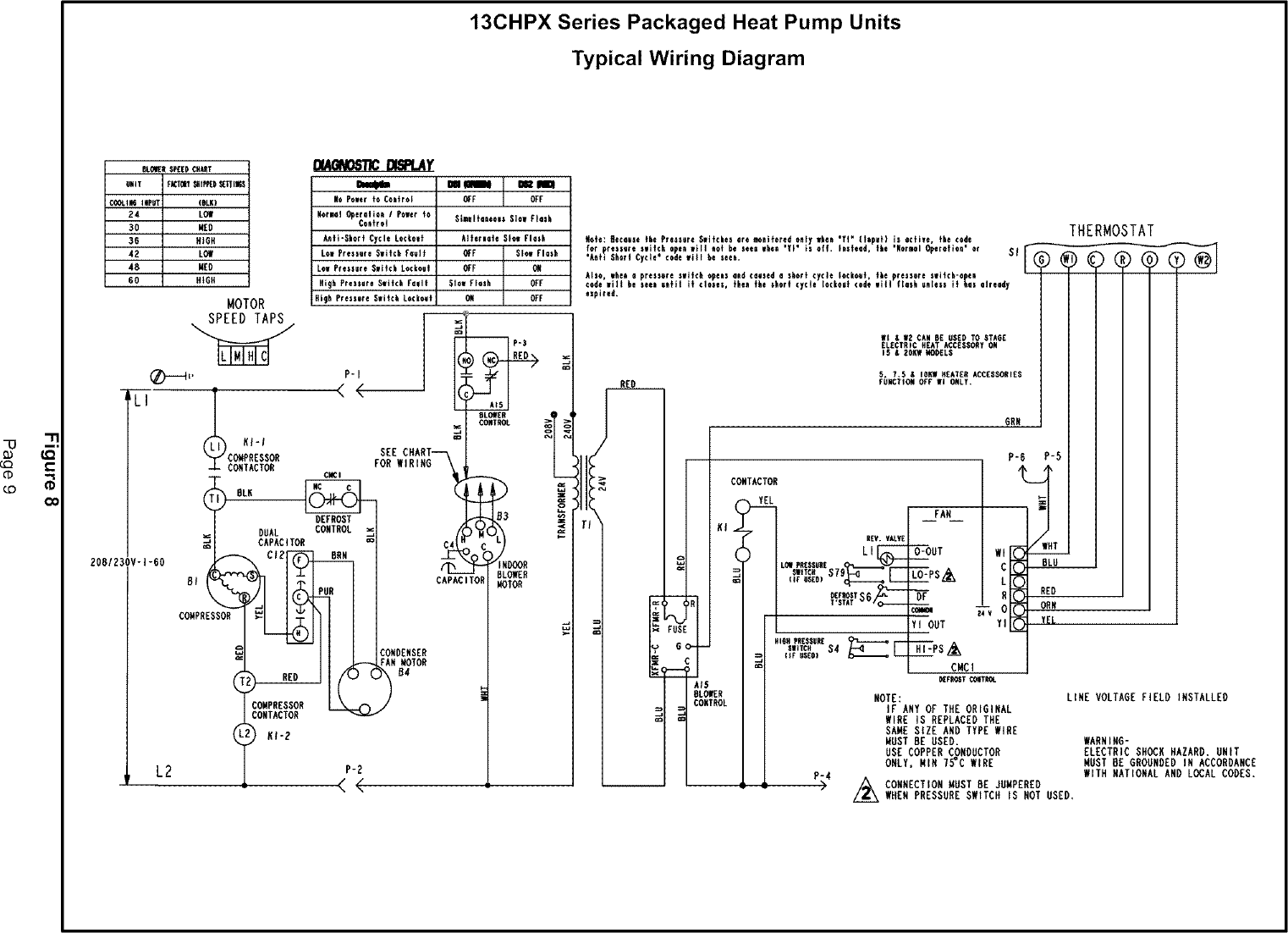 hight resolution of page 9 of 12 lennox package units both units combined manual l0806654