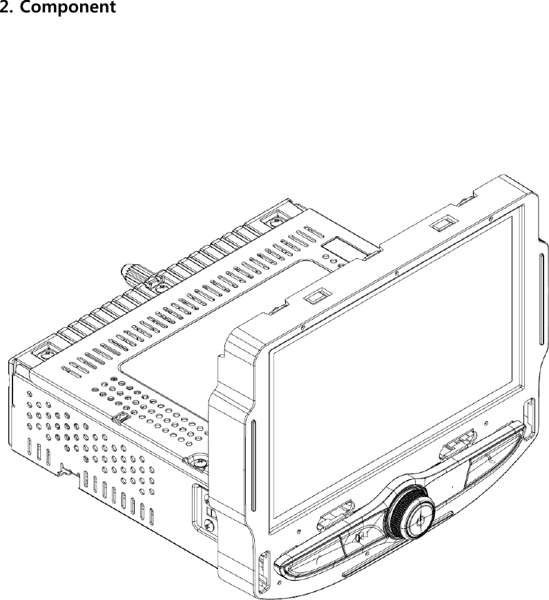 LG Electronics USA LC7FD Faceplate RADIO ASM-RECEIVER User
