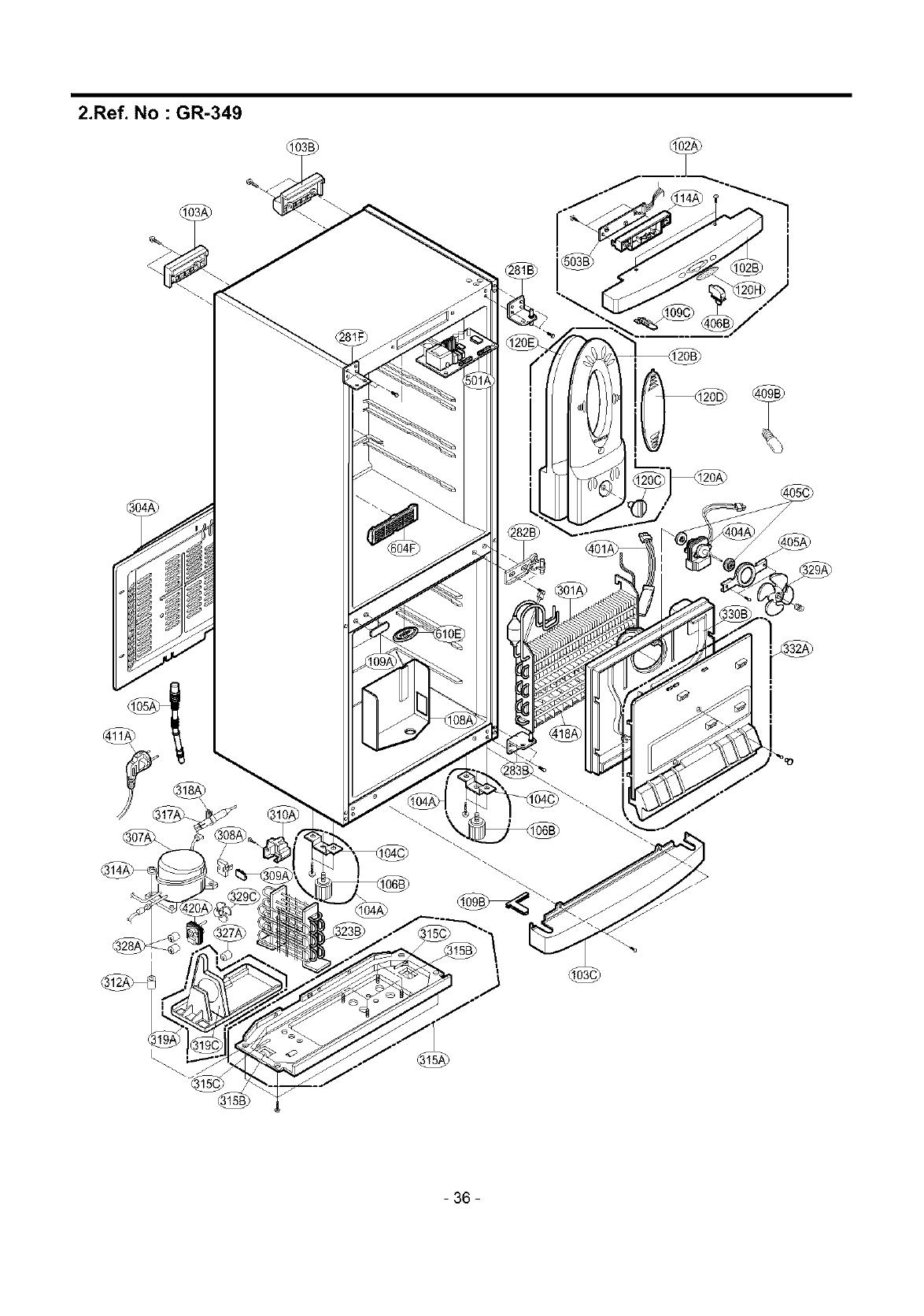 LG LRBP1031NI User Manual REFRIGERATOR Manuals And Guides