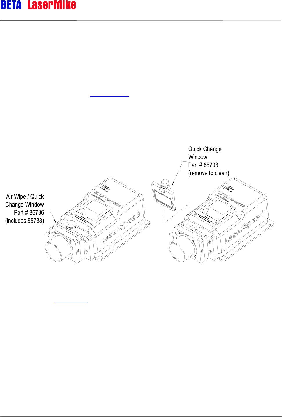 Laser Beta Lasermike Ls8000 3 Users Manual 0921 01561