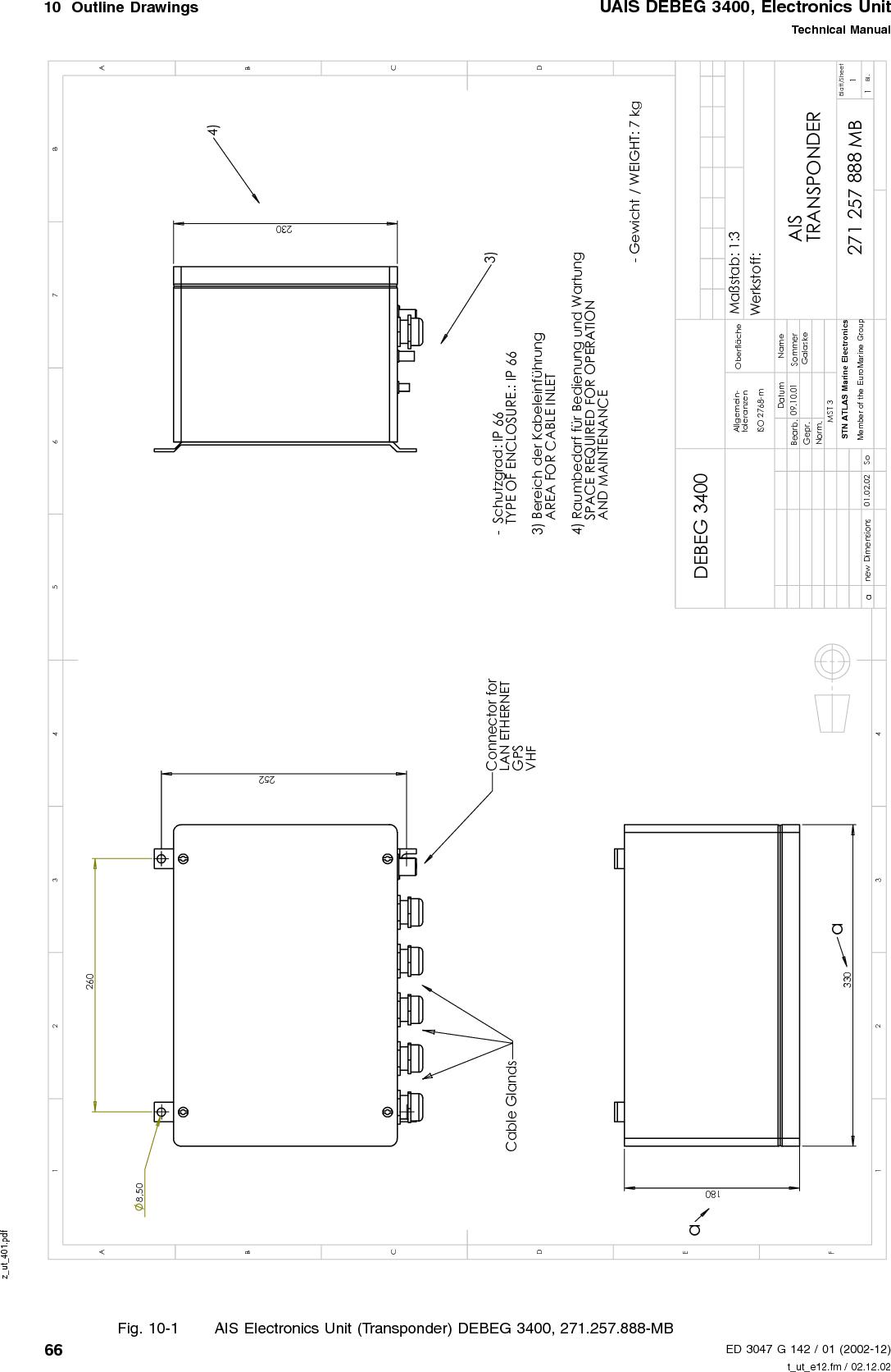 Leica MX Marine MX531 MX 531 AIS Transponder User Manual t