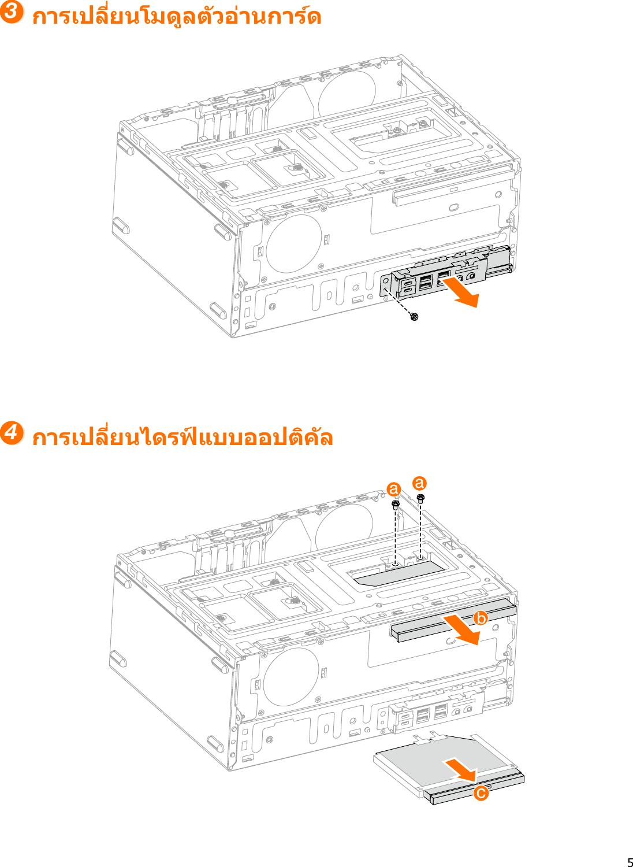 Lenovo คู่มือผู้ใช้ 510A 15ICB Desktop (ideacentre) Type