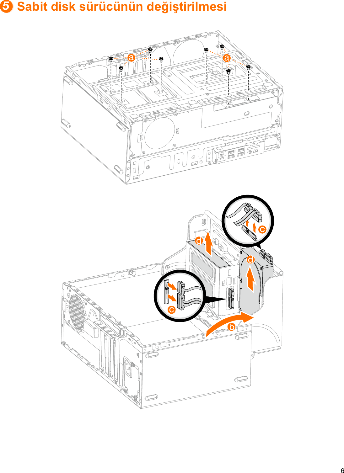 Lenovo Kullanma Kılavuzu 510A 15ICB Desktop (ideacentre