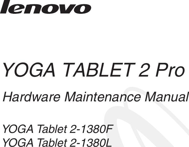 Lenovo Yoga Tablet2Pro 13A Hmm En V1.0 20140924 1380 HMM