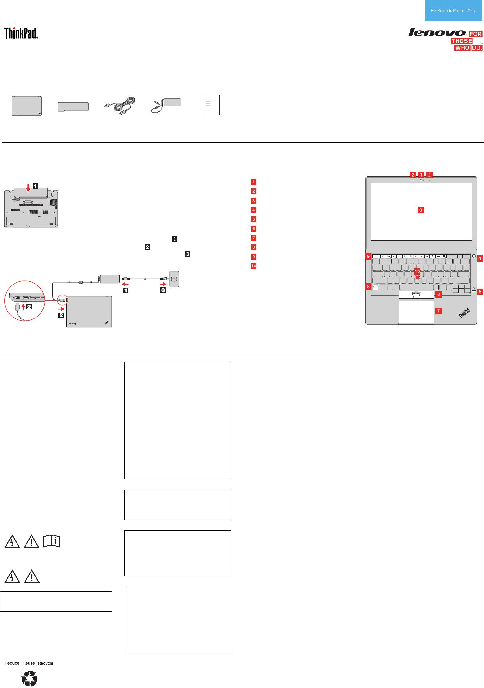 Lenovo T450 Swsg Es Sp40F12731 (Cobain2) User Manual