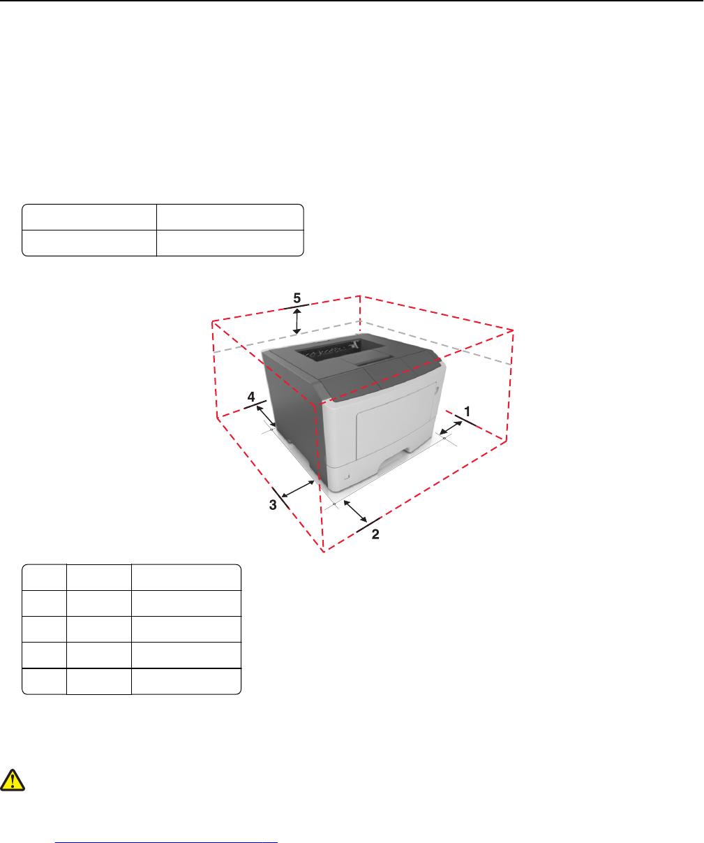 Lexmark MS415dn Laser Printer User's Guide User Manual To