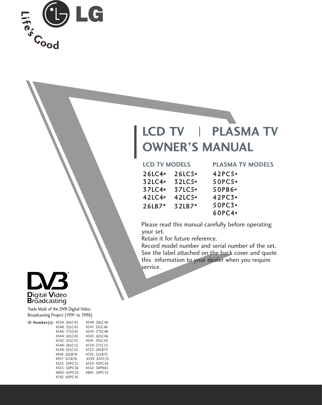 Lg 26 Lc5 Users Manual SAC30033609_en