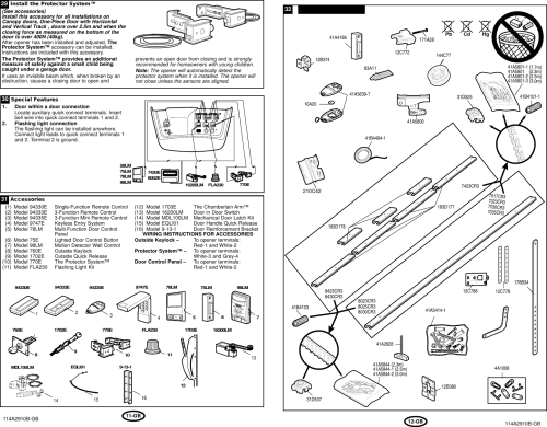 small resolution of page 7 of 9 liftmaster liftmaster garage door opener 1000a
