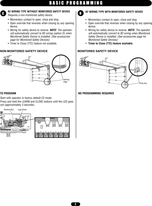 small resolution of page 3 of 12 liftmaster liftmaster mt owners manual 01 34215