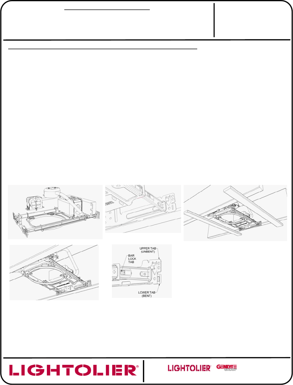medium resolution of installation instructions for wood frame ceiling applications
