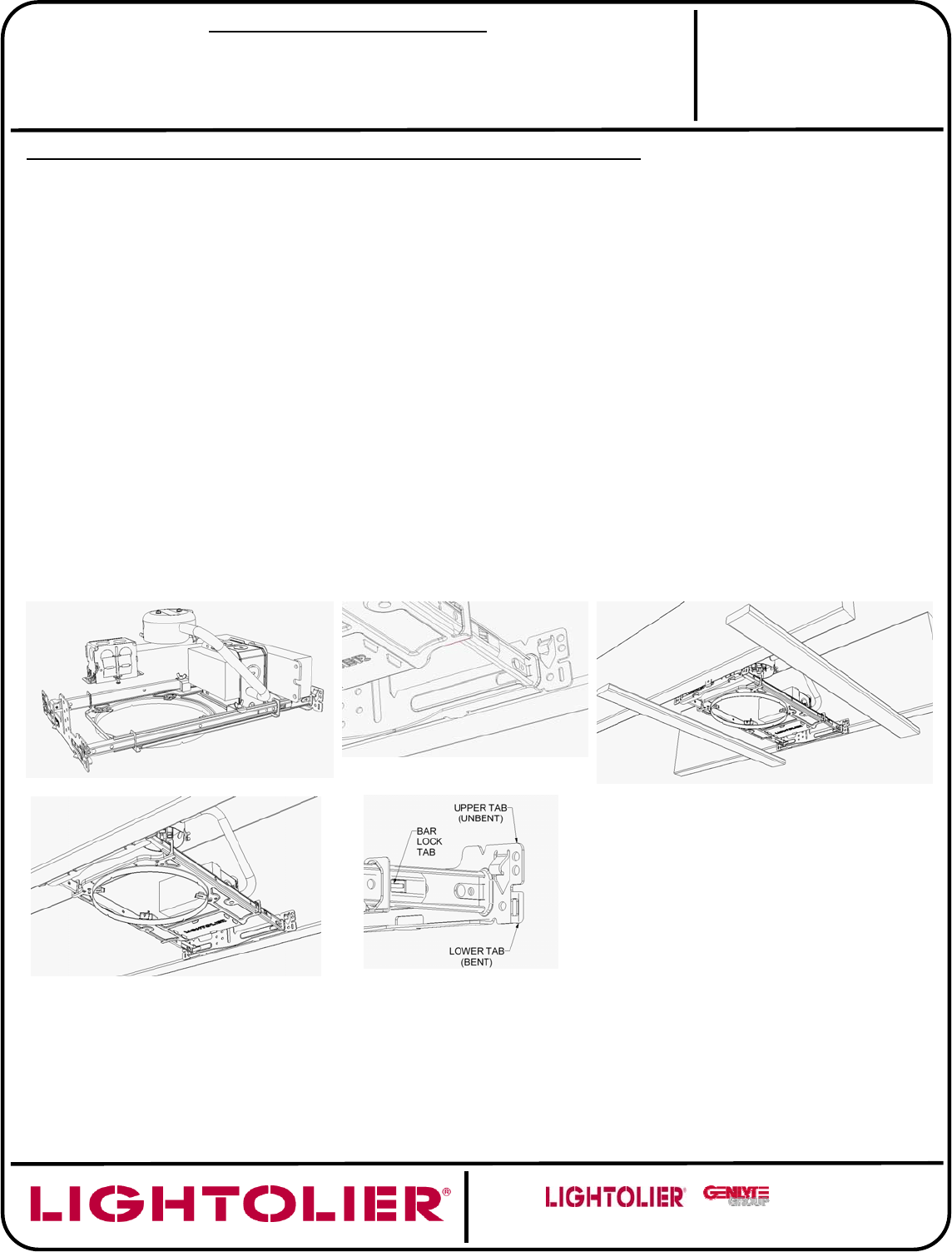 hight resolution of installation instructions for wood frame ceiling applications