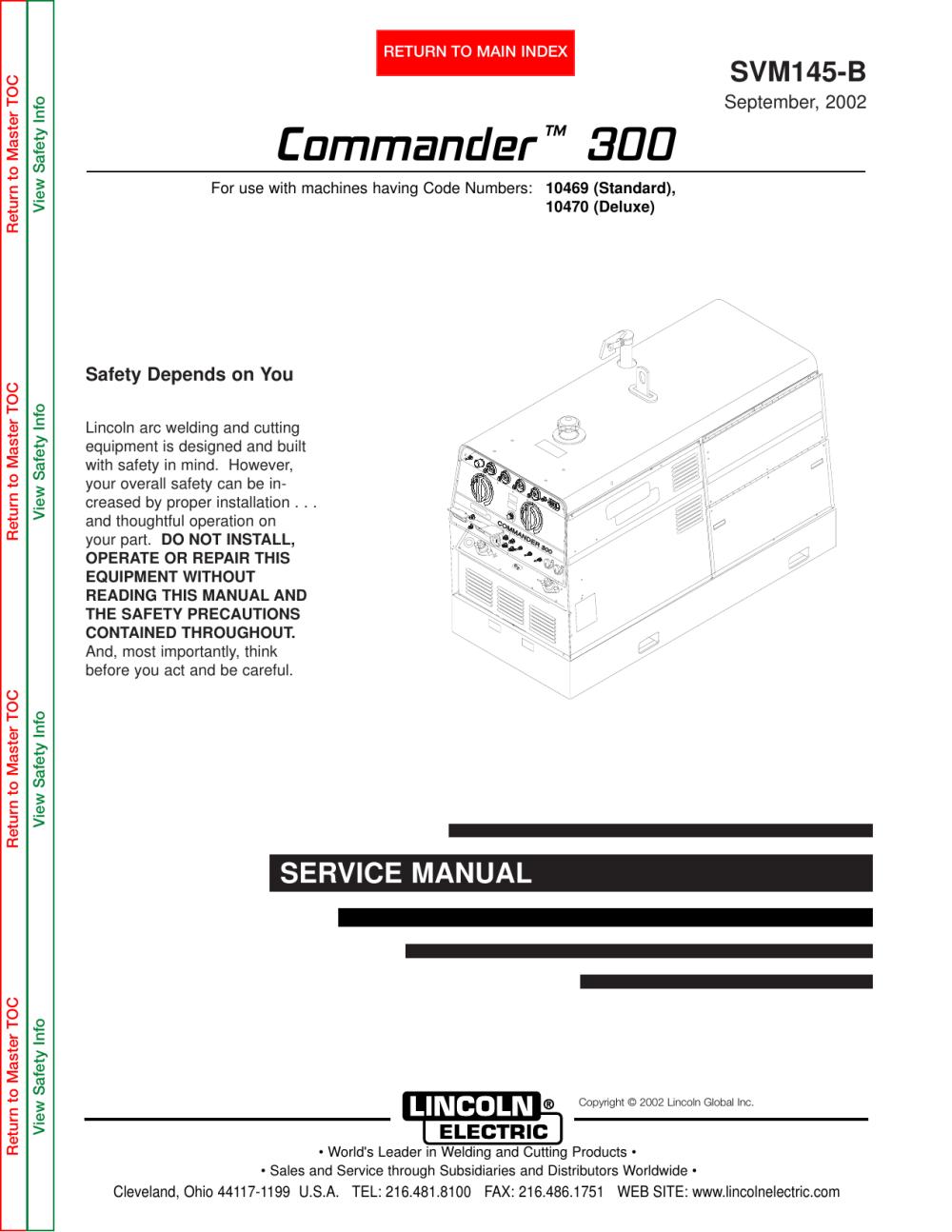 medium resolution of lincoln 300 commander wiring diagram