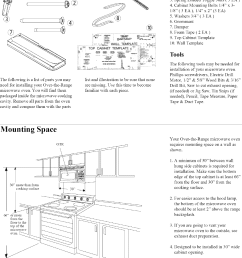 page 2 of 8 magic chef microwave hood combo manual l0803304 [ 1078 x 1467 Pixel ]