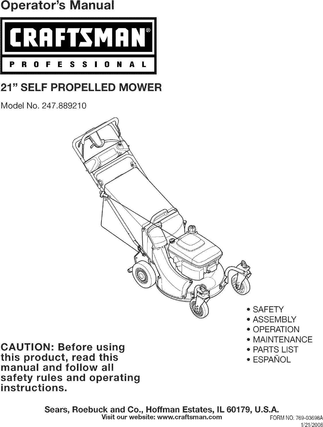 MTD 12AE997E099 User Manual LAWN MOWER Manuals And Guides