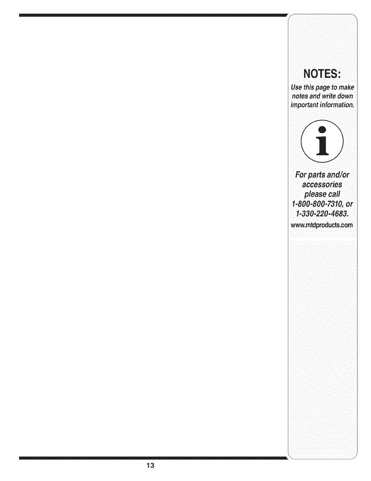 MTD 24A 462G729 User Manual CHIPPER/SHREDDER Manuals And