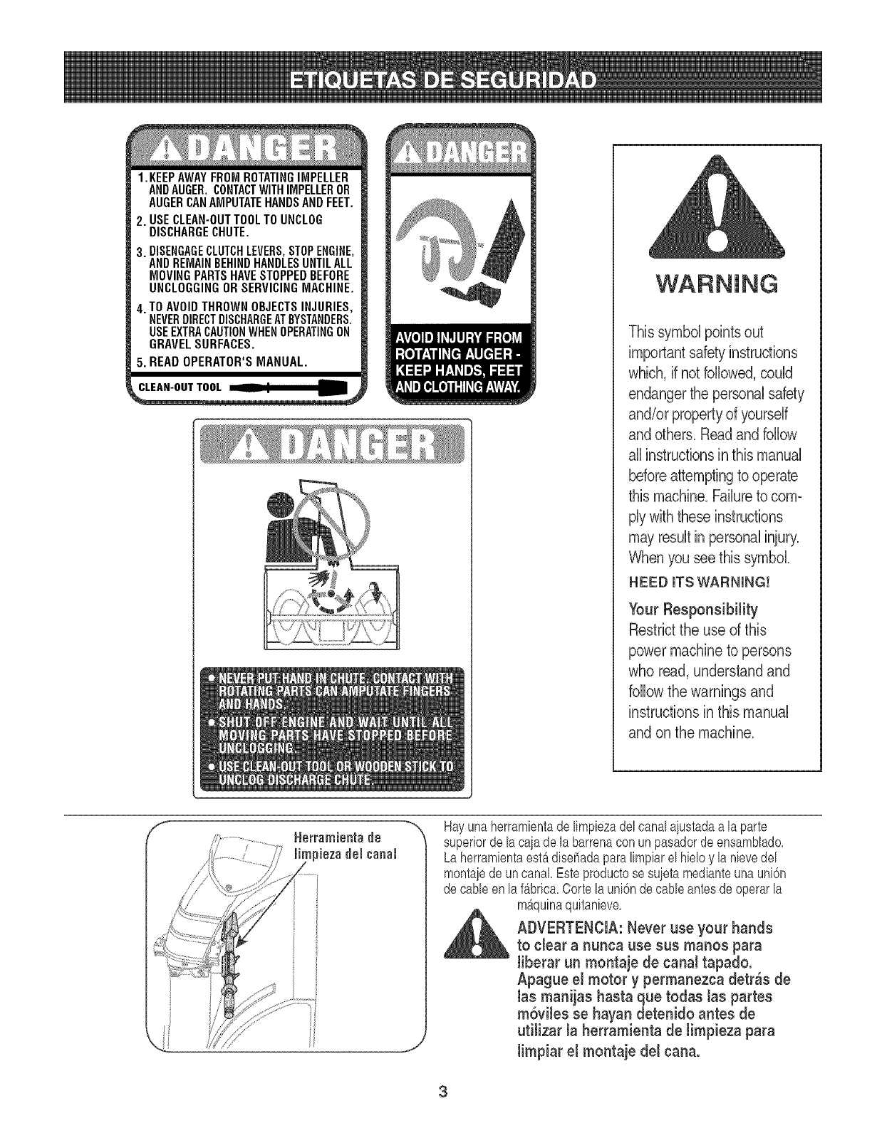 MTD 31AS6HEG799 L0522278 User Manual SNOWTHROWER Manuals
