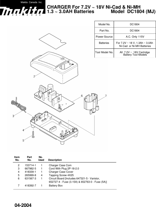 small resolution of makitum battery charger wiring diagram