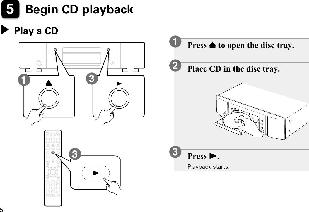 Marantz CD5005 User Manual To The D7c39c32 3631 4661 8d74