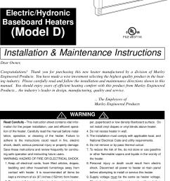 marley d22 thermostat wiring diagram residential electrical symbols u2022 240v baseboard heater wiring diagram marley [ 1041 x 1436 Pixel ]
