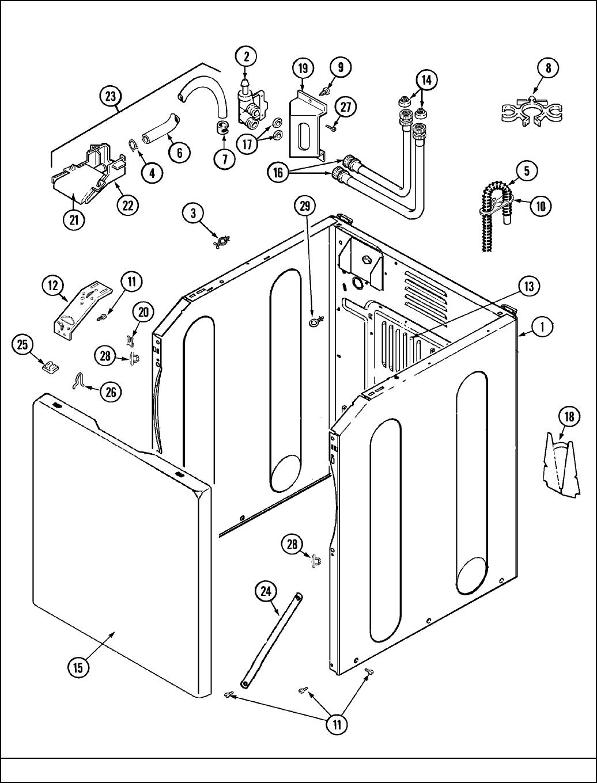 Maytag Washer Mav7000Aww Users Manual