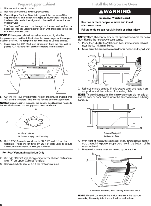 small resolution of page 8 of 12 maytag maytag w10188238a users manual w10188238a maytag