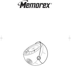 memorex msp bx1600 users manual bx1600 ommemorex wiring diagram 18 [ 1201 x 1563 Pixel ]