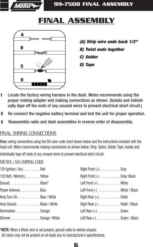 small resolution of page 8 of 12 metra electronics metra electronics mazda cx7