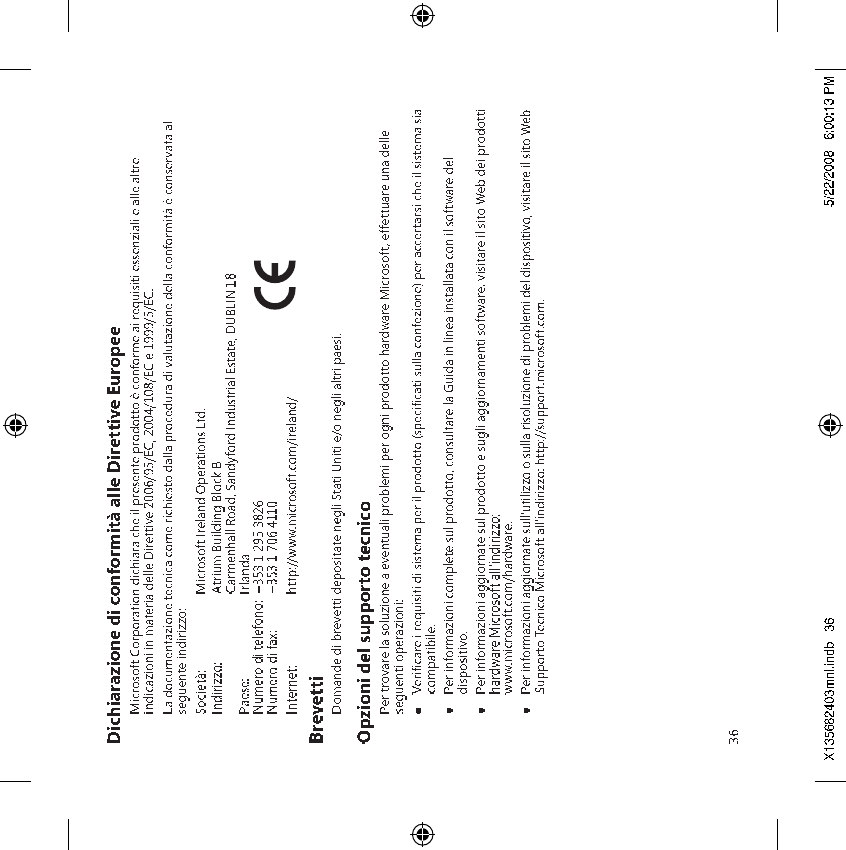 Microsoft 1387 Microsoft Wireless Mouse User Manual