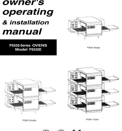 middleby marshall ps520 users manual ps520e fm pmd on marshall cabinets diagram marshall wiring  [ 1061 x 1486 Pixel ]