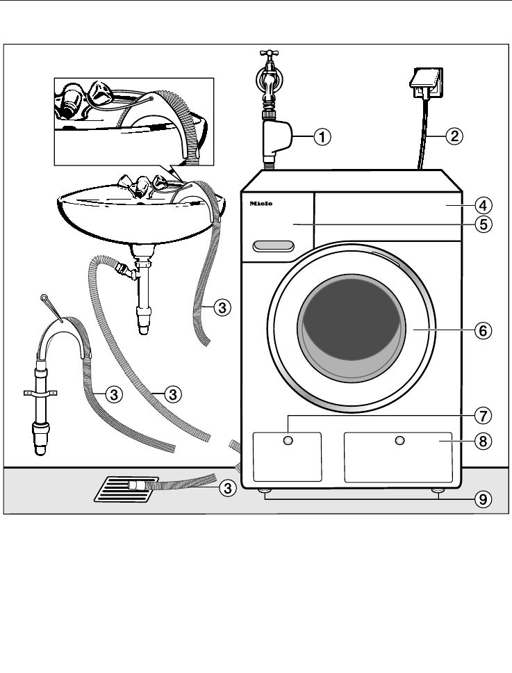 Miele 09 845 470 WKR 770 WPS GB en User Manual To The