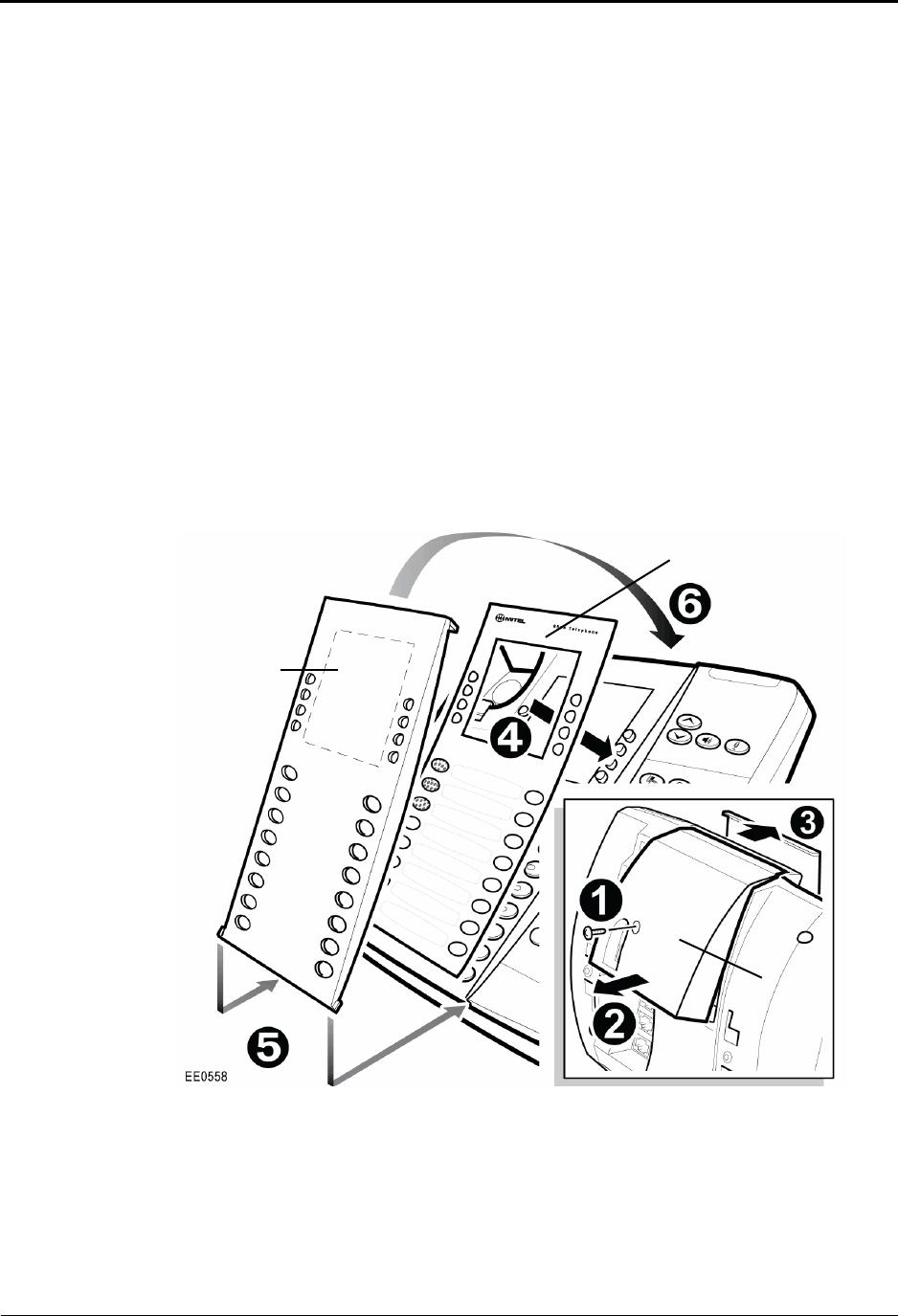 Mitel 8568 Users Manual Telephone User Guide