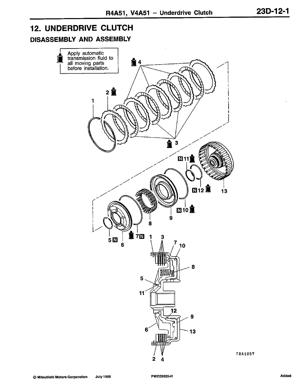 Ejuly 2000mitsubishi motors corporation r4a51 v4a51 transfer <v4a51> 23d 14 1