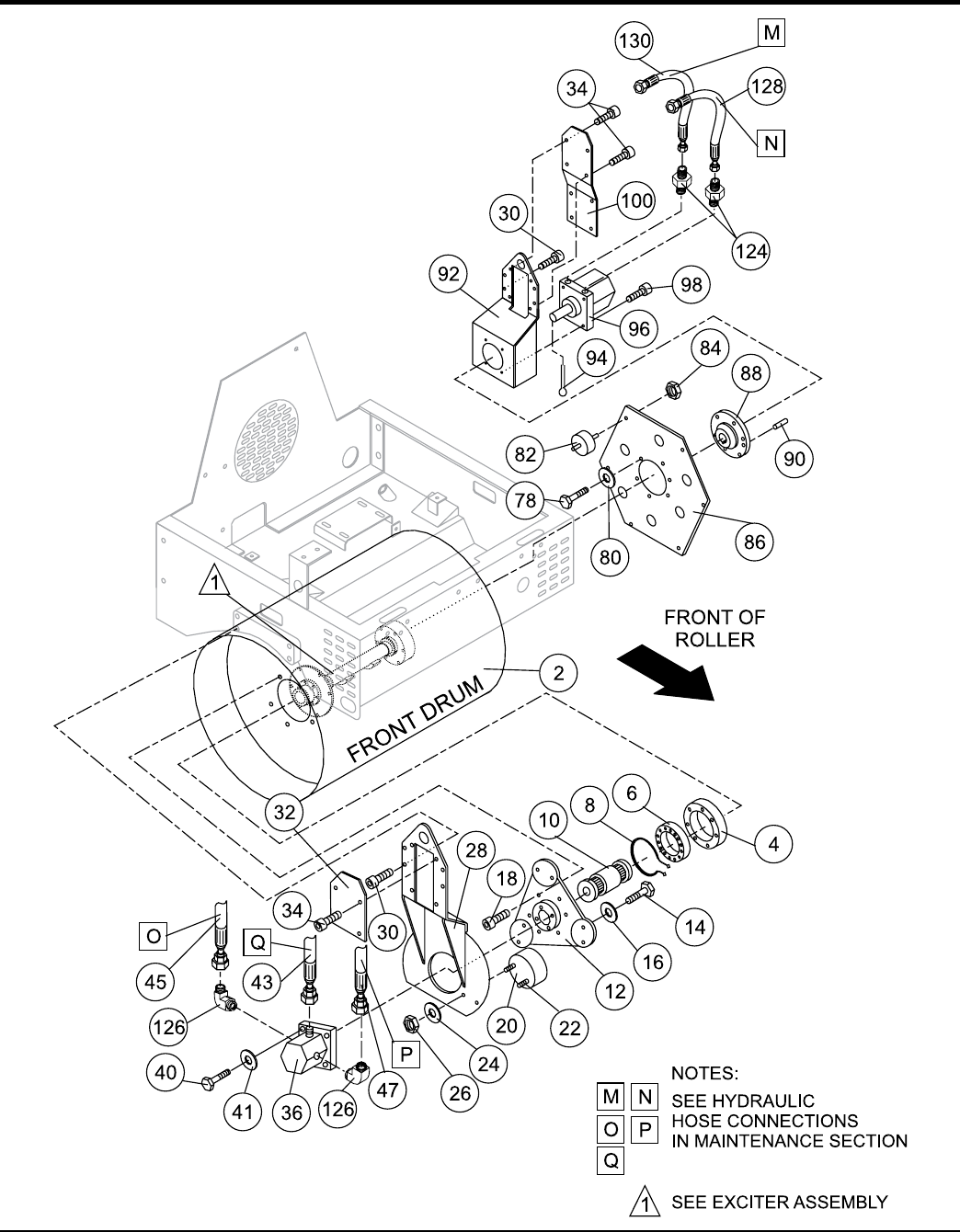 Page 48 ar13ha ar13har roller s n 110301 up operation and parts manual rev 0 06 22 11