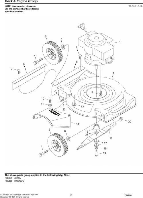 small resolution of page 6 of 12 murray murray murray lawn mower 7800864