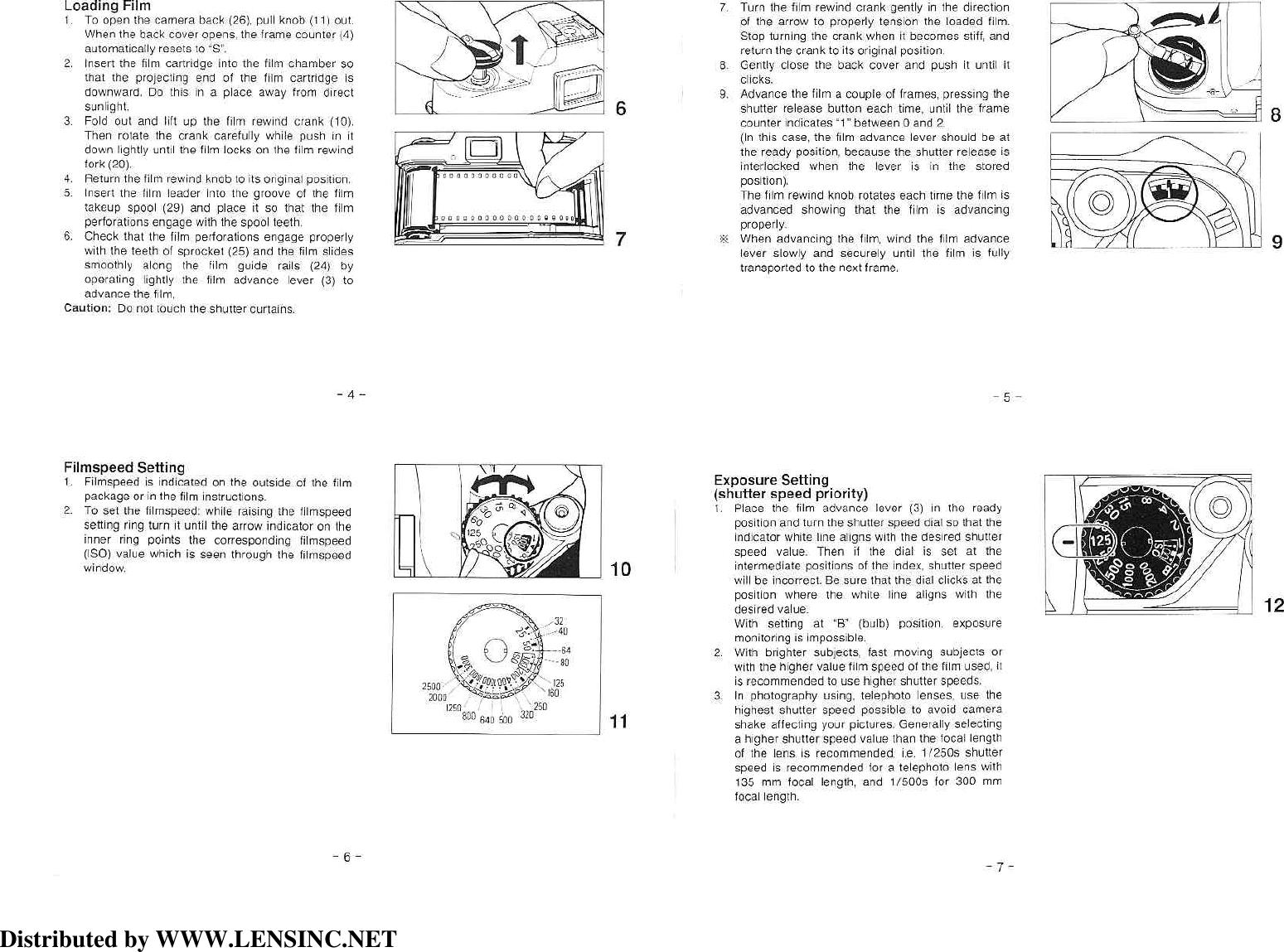 Nikon Fm 10 Quick Guide Instruction Manual