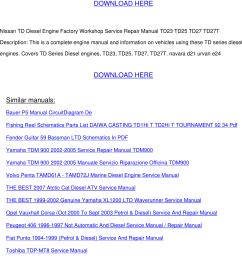 128341302 td diesel engine workshop manual td23 td25 td27 td27t [ 1141 x 1523 Pixel ]