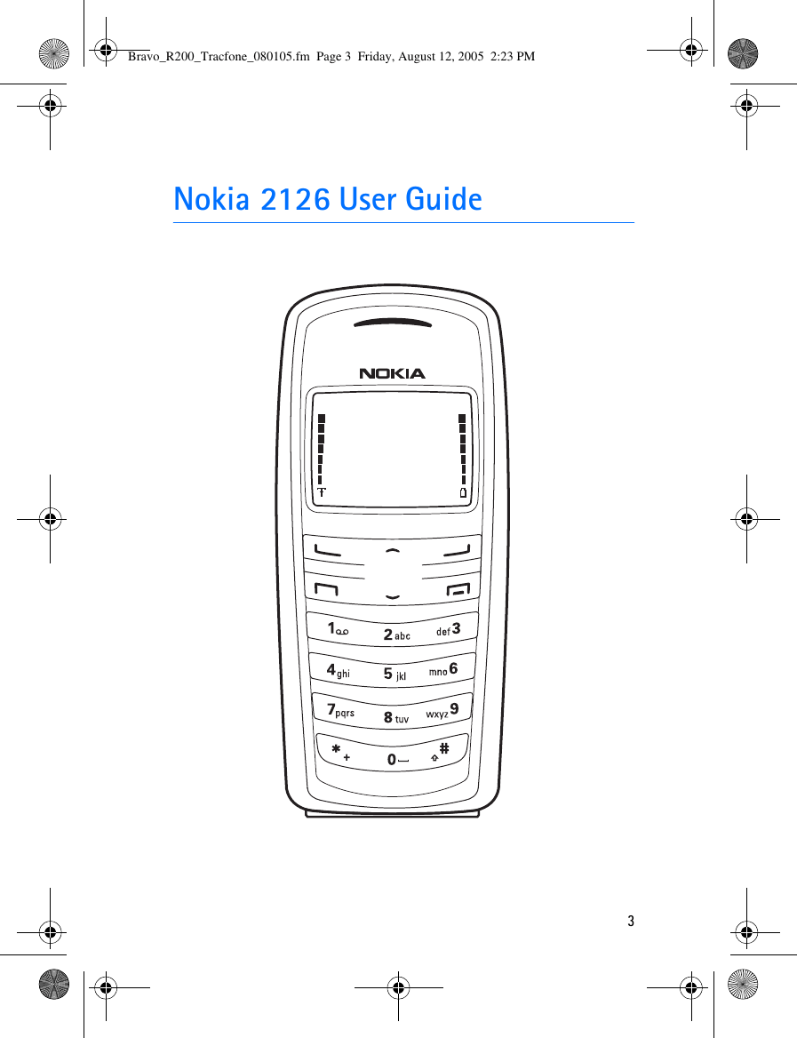 Nokia 2126 Users Manual Bravo_R200_Tracfone_080105