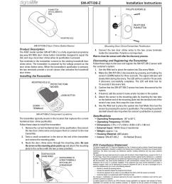 nortek security and control 00146 door chime button user manual 10011739x1 indd [ 1363 x 1744 Pixel ]