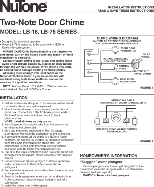 small resolution of wrg 8228 nutone door chime wiring diagram nutone musical chime wiring diagram