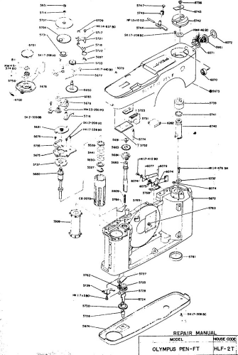 Olympus Pen Ft Repair Manual