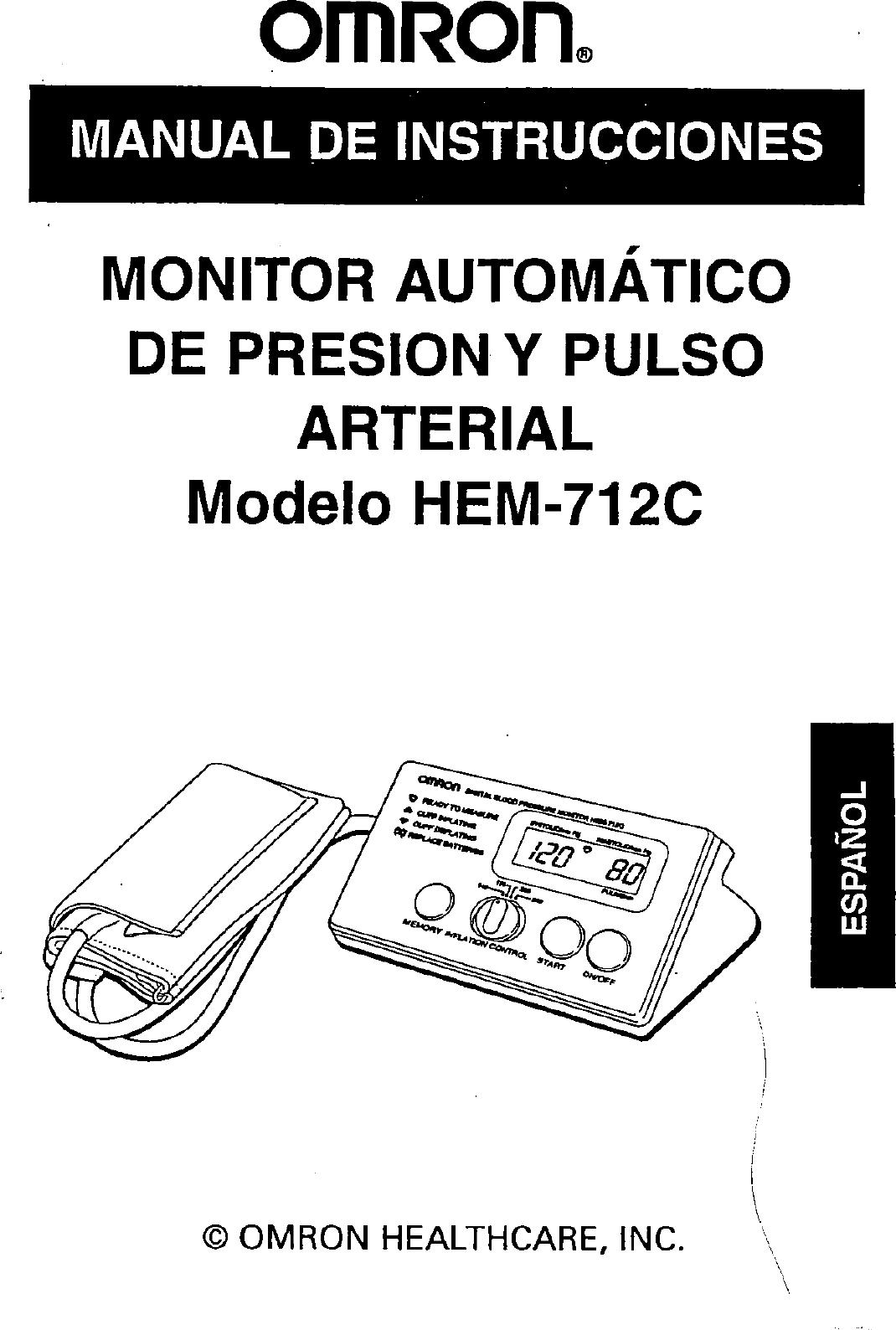 Omron Hem 712C Users Manual ManualsLib Makes It Easy To
